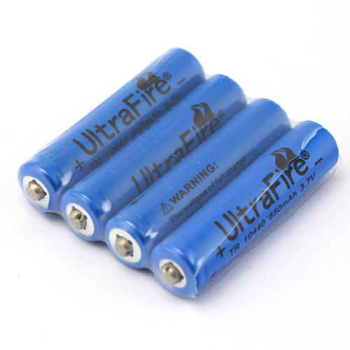 3.7 Volt type batteries you can use with the BeautyTeck. There are several other approved suppliers of suitable rechargeable batteries.